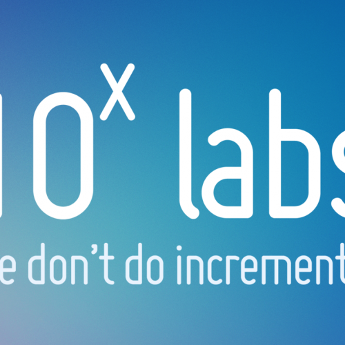 Research Based Start-up Initiative – 10X Labs