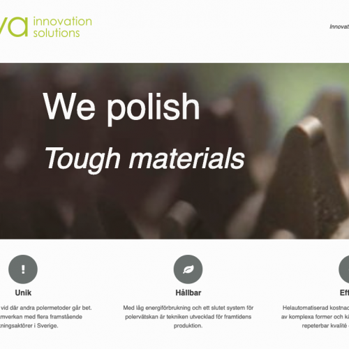 Research Based Company Start-Up: Nova Innovation Solutions AB