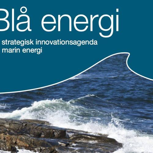Strategic Research Agenda: Blue Energy | 2012-2013