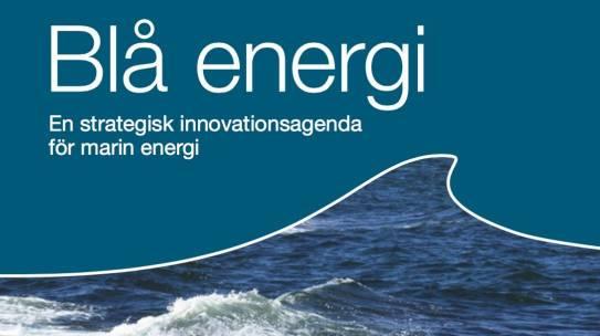 Strategic Research Agenda: Blue Energy | 2012-2013