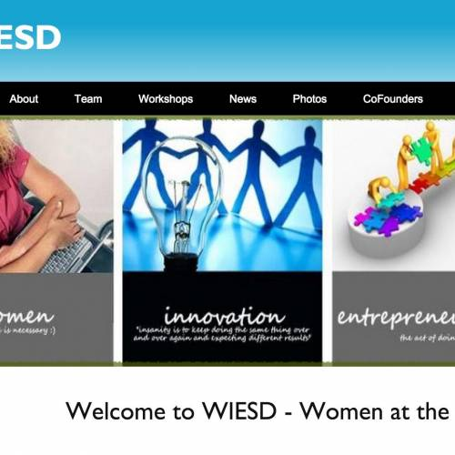 WIESD – Women at the forefront of Innovation, Entrepreneurship and Sustainable Development | 2013-2014