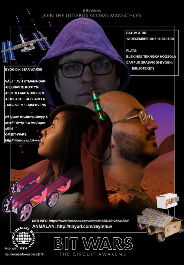 Bit Wars Poster