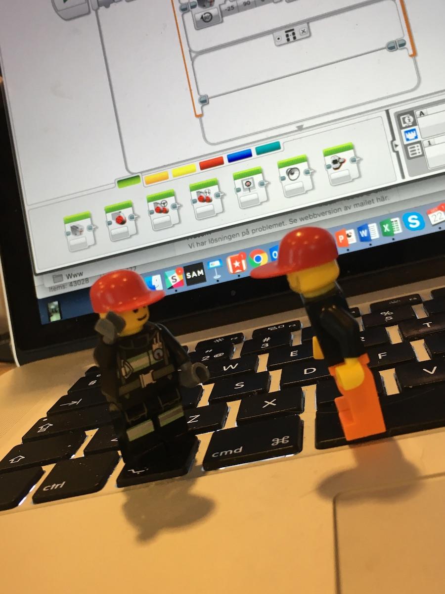 Lego Mindstorms coders