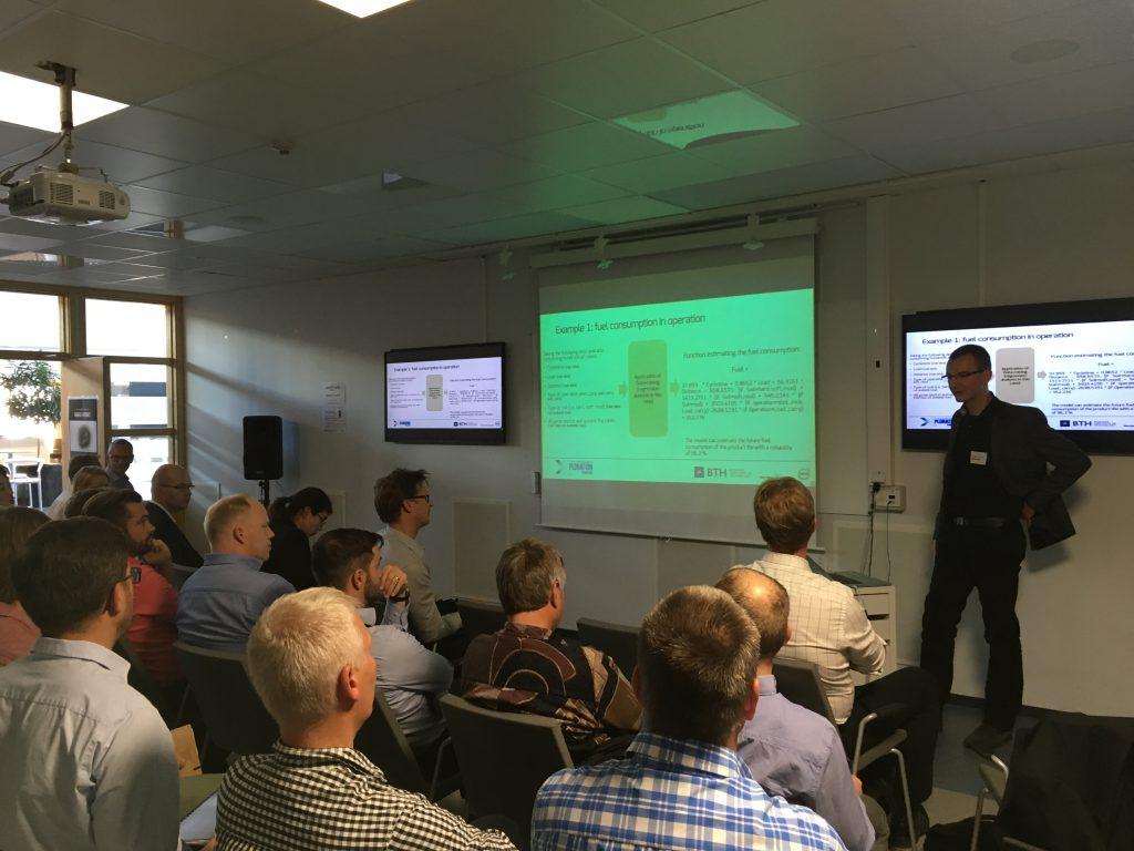 Alessandro Bertoni presenting at Exploration Forum 2016