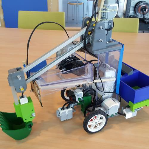 Robotar med samarbete i fokus