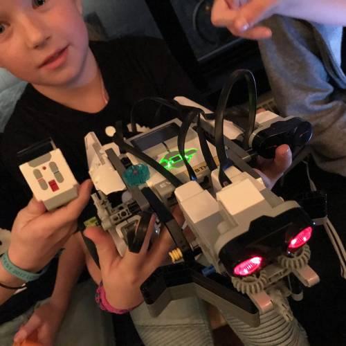 Deltagarrekord på årets Robothon