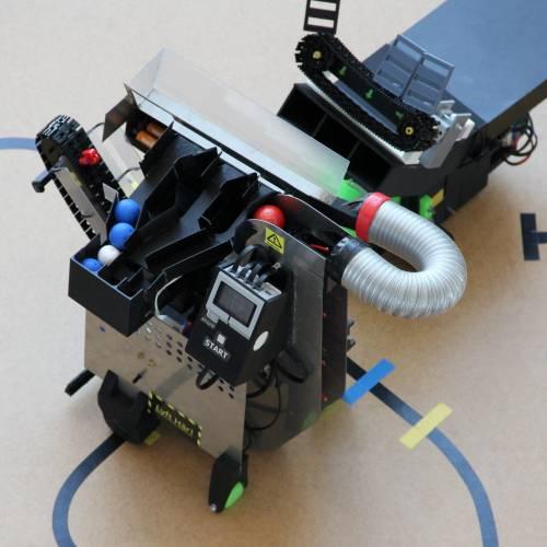 Samverkande robotar utvecklade av samarbetande ingenjörsteam