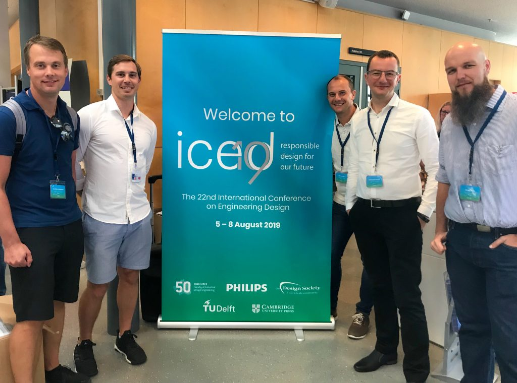 Bth Pdrl At The 22nd International Conference On Engineering Design 2019 Product Development Research Lab