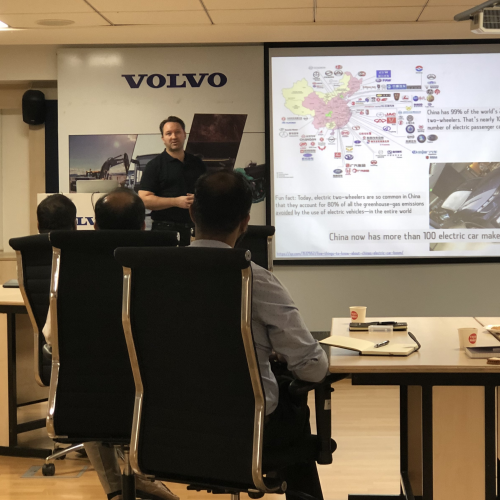 Innovation Engineering Capability sessions with Volvo CE