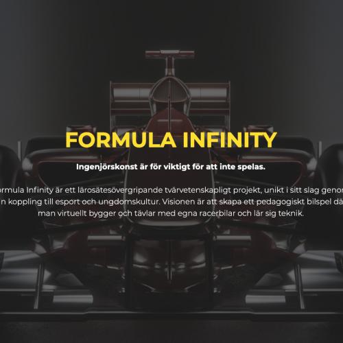 Formula Infinity – Ingenjörskonst är för viktigt för att inte spelas