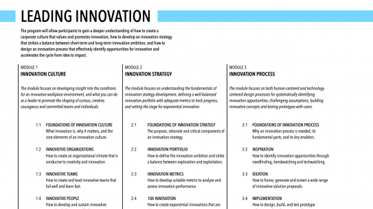 Leading Innovation – Creating the Attentive Company