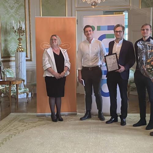 SKAPA-pris 2021 till maskinteknik-alumner!